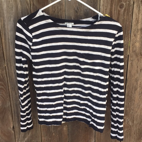 Forever 21 Tops - Striped Long Sleeve